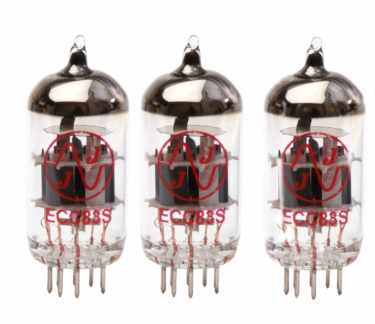 ECC83 3-off preamplifier valve kit