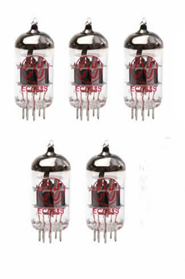 ECC83 5-off preamplifier valve kit