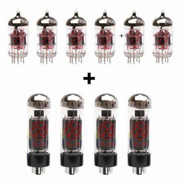 4x ECC83 and 2x ECC81 and 4x EL34 valve kit