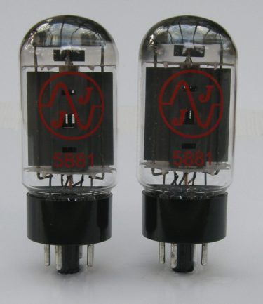 5881 valves matched pair