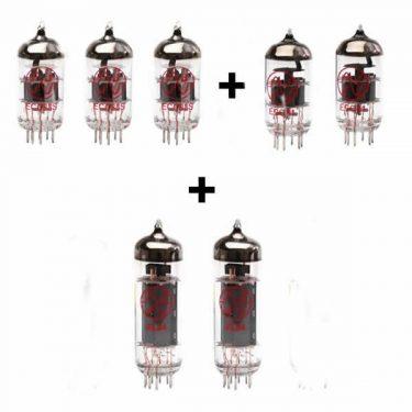 2 x EL84; 3 x ECC83; 2 x ECC81 valve kit