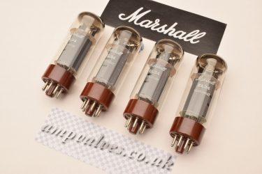 Marshall EL34 x 4 matched quad