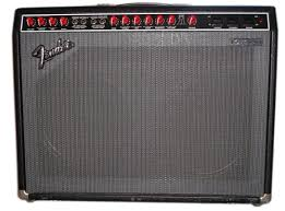 Fender Twin Red Knob